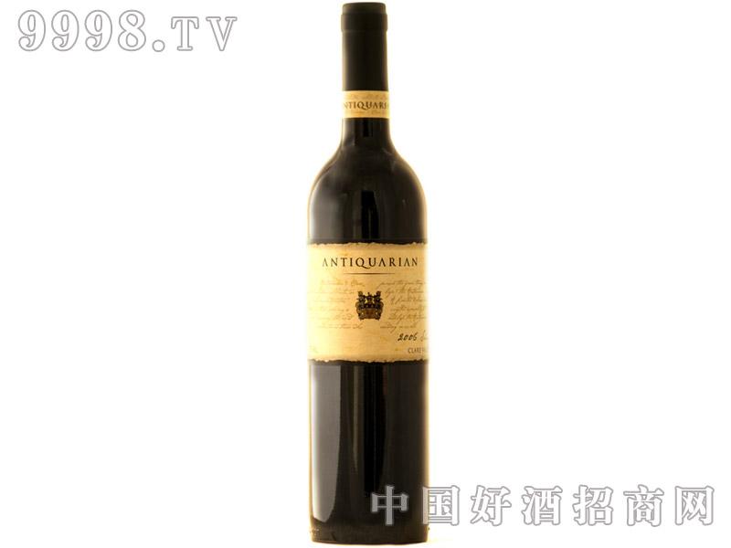 克莱尔谷古典珍藏设拉子干红葡萄酒2006