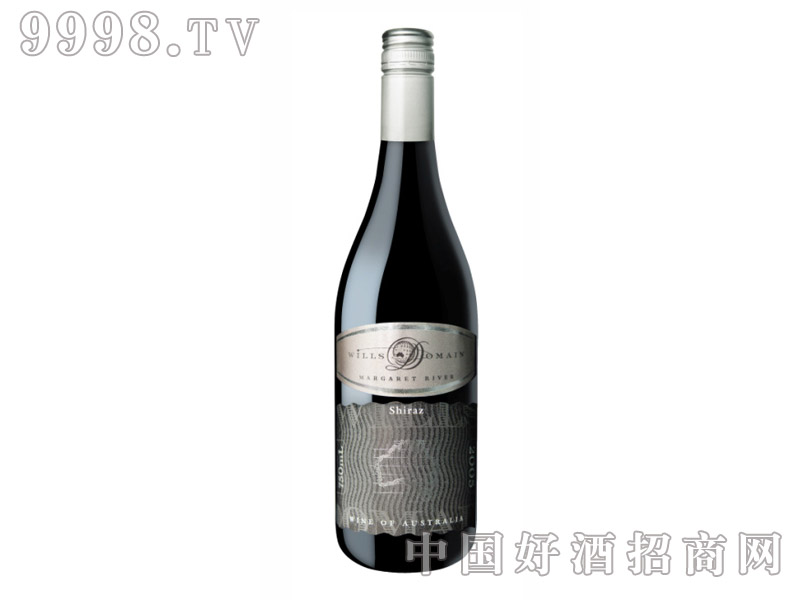 威尔士庄园设拉子干红葡萄酒2005