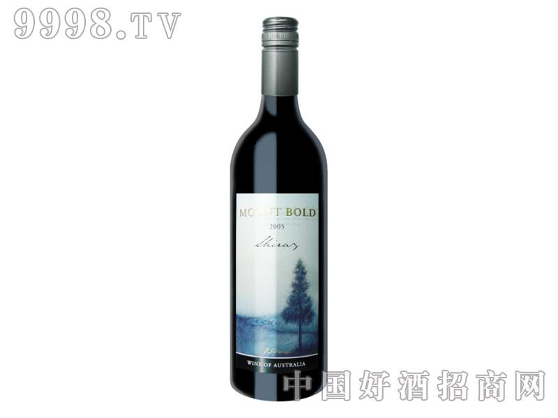 伯德山设拉子干红葡萄酒2005