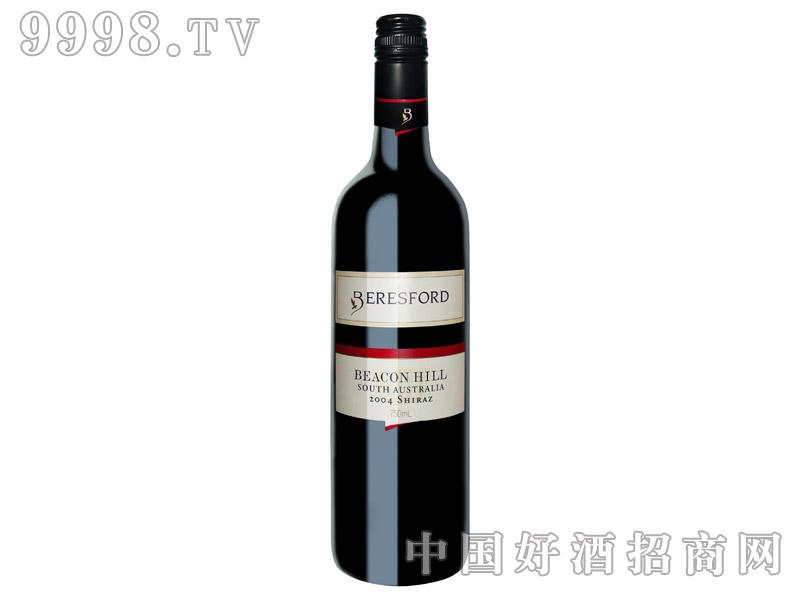 灯塔山设拉子干红葡萄酒2004