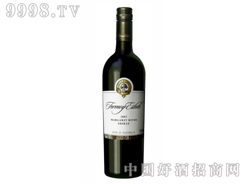 弗慕妮庄园设拉子干红葡萄酒2007