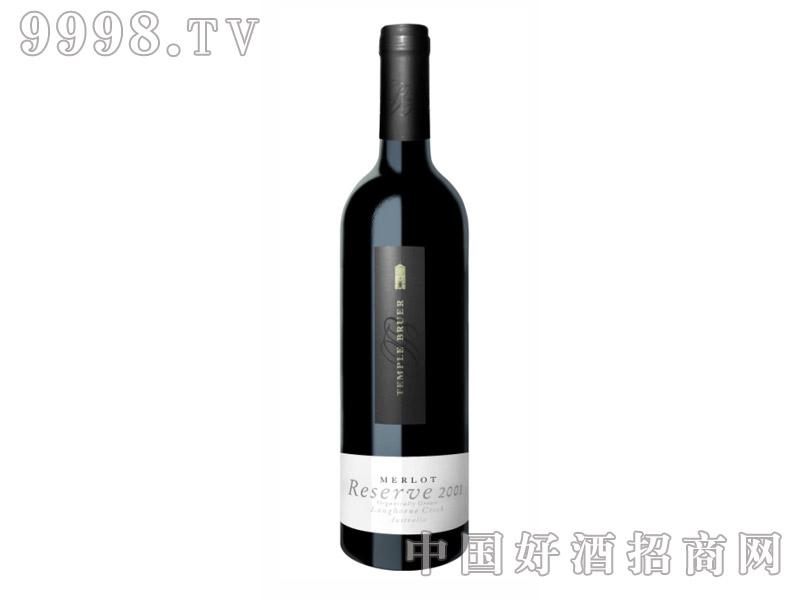 布尔圣堂限量版梅洛有机干红葡萄酒13.3°2001