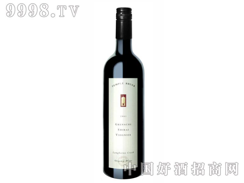 布尔圣堂歌海珊设拉子维尼欧有机干红葡萄酒13.6°2005