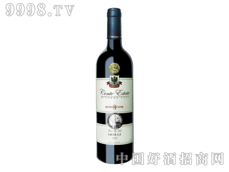 康特庄园设拉子干红葡萄酒2005