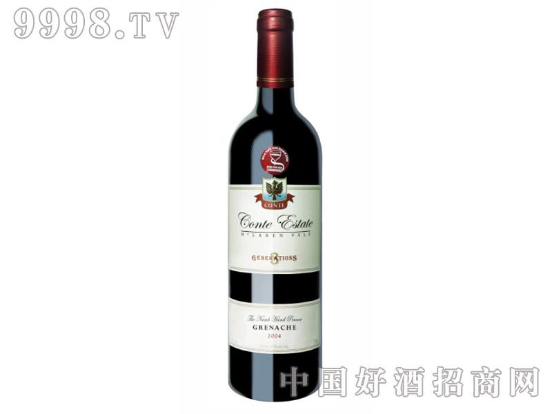康特庄园歌海珊干红葡萄酒2004