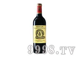 法国金钟酒庄红葡萄酒