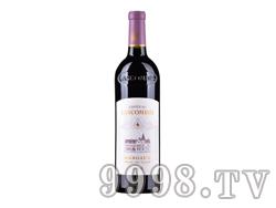 法国力士金庄园红葡萄酒