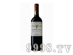 智利蒙特斯欧法赤霞珠红葡萄酒