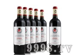 法国圣克曼酒庄干红葡萄酒