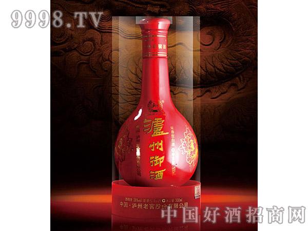泸州御酒红瓶透明盒