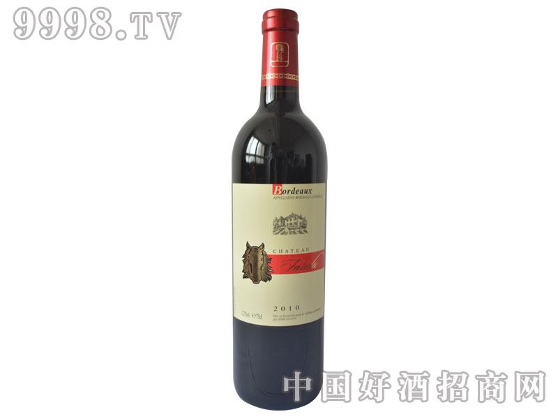 法斯达波尔多红葡萄酒2010
