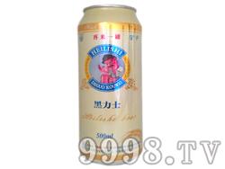 黑力士啤酒9°500ml(再来一罐)