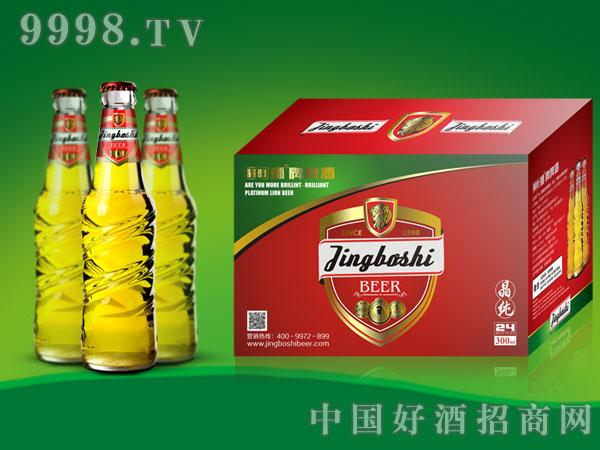 晶铂晶纯啤酒330ml