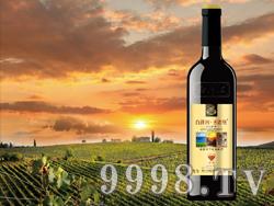 白洋河圣诺堡酒庄金钻赤霞珠干红葡萄酒