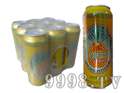 鼎力菠萝果味啤酒