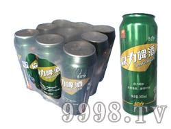 鼎力啤酒绿罐