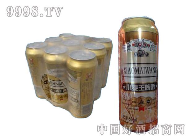鼎力小麦王啤酒罐装