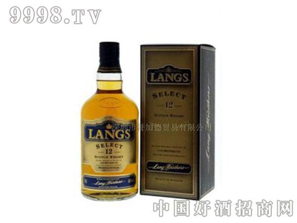 洋酒-【进口洋酒】-兰士12年苏格兰威士忌-700ml