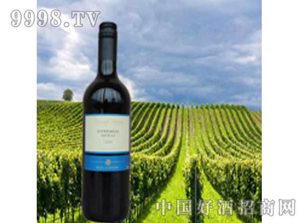 百吉庄刚达盖设拉子干红葡萄酒