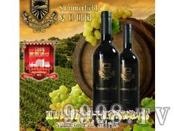 夏日田园设拉子干红葡萄酒