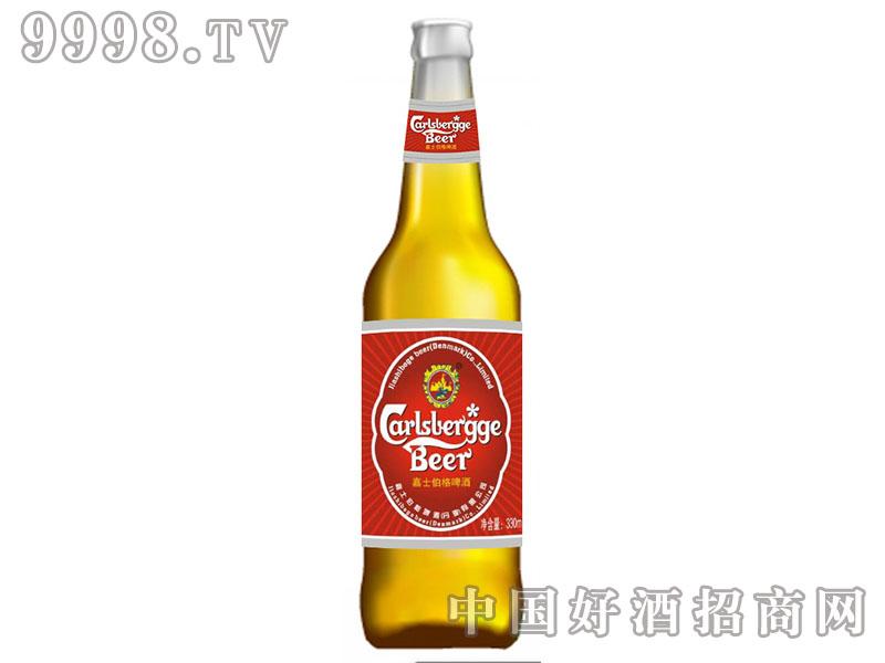 嘉士伯格啤酒黄瓶330ml