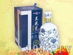 成荣兰花瓷酒