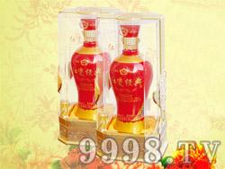 成荣红瓷经典酒(水晶盒)