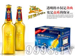 鸿运好派1945啤酒・鲜令(480ml×12支)