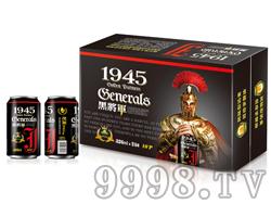鸿运好派1945啤酒・黑将军