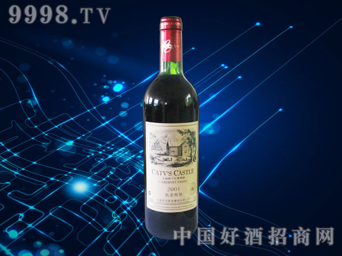 凯蒂斯堡品丽珠干红葡萄酒
