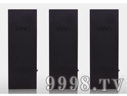 单支装黑漆实木盒