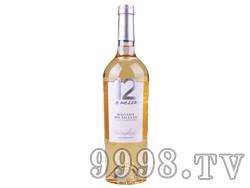 12度半干白葡萄酒