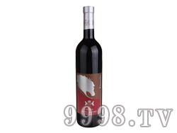 银马干红葡萄酒