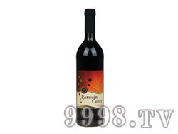 巴登半干红葡萄酒