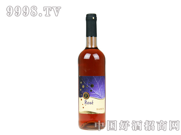 巴登玫瑰红半干葡萄酒