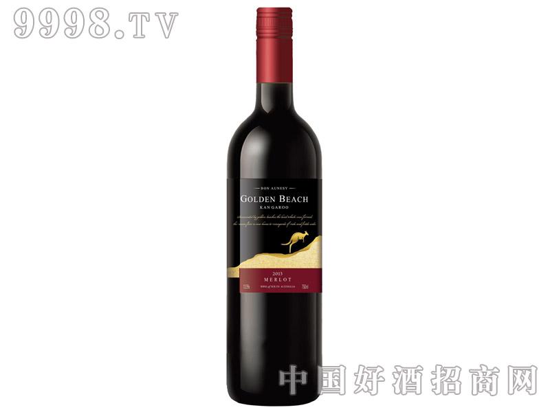 澳尼斯金沙袋鼠梅乐葡萄酒