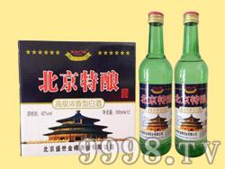 复兴门楼北京特酿高级浓香型白酒