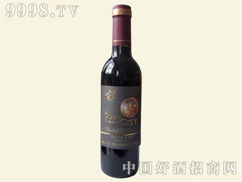 蓬城美乐干红葡萄酒375ml
