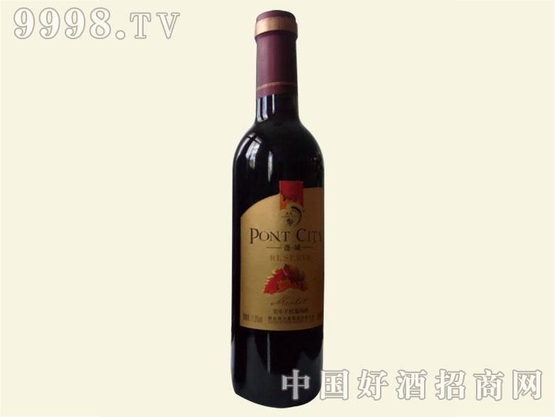 蓬城美乐干红葡萄酒375ml(金标)