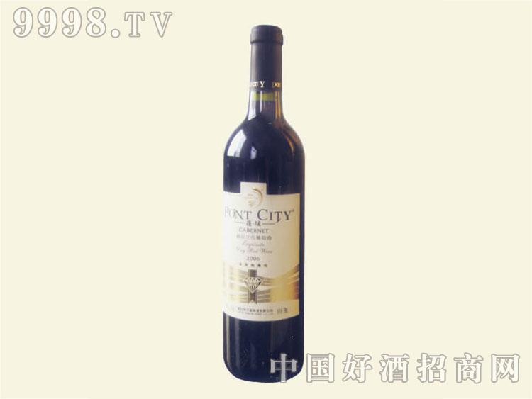 蓬城五星精品干红葡萄酒2000