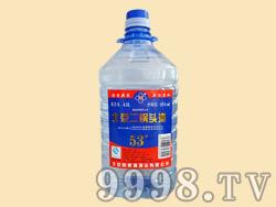 53度4.5升蓝桶