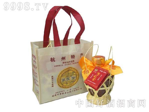 草根堂荞麦酒陈3(杭州特产)