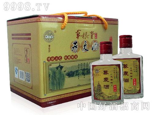 草根堂荞麦酒陈3-125ml礼盒