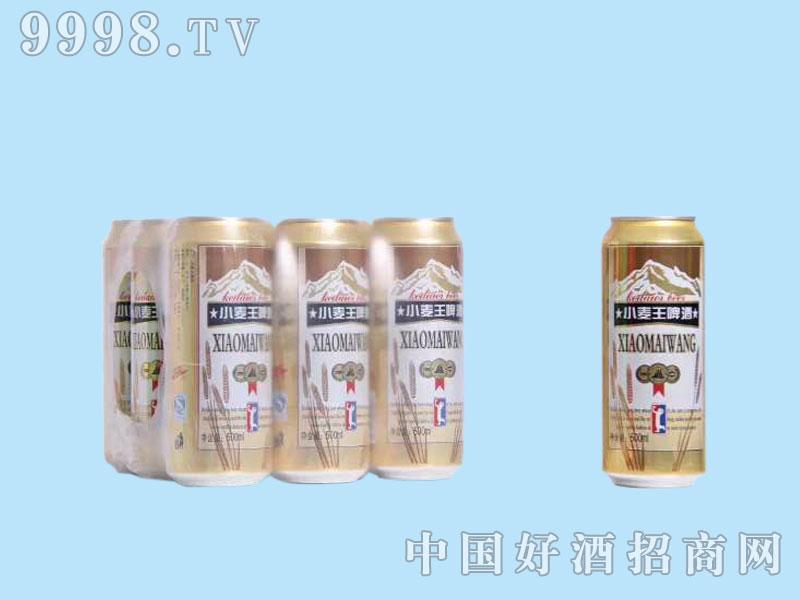 皇族小麦王啤酒罐装