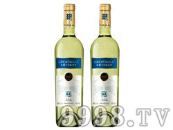 长城窖藏莎当妮干白葡萄酒