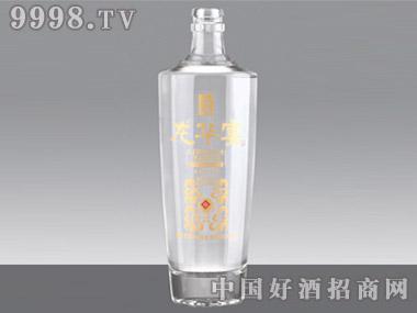 奥烽晶白玻璃瓶龙华宴J-173 500ml