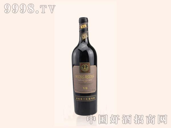 松蓉赤霞珠干红葡萄酒v6