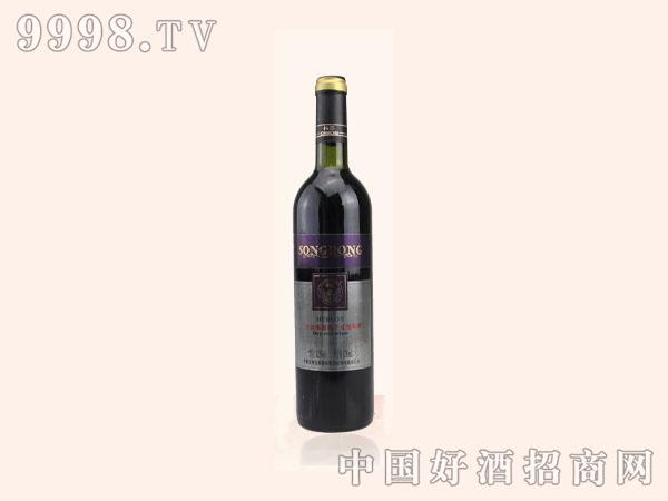 松蓉手选梅鹿辄干红葡萄酒
