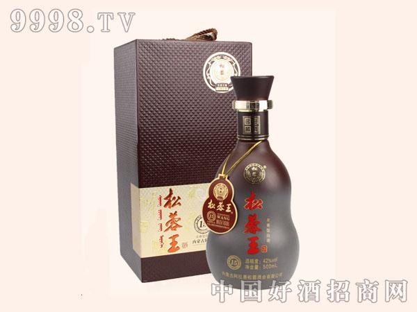 松蓉王浓香型白酒42度