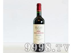 卡斯汀公爵干红葡萄酒750ML